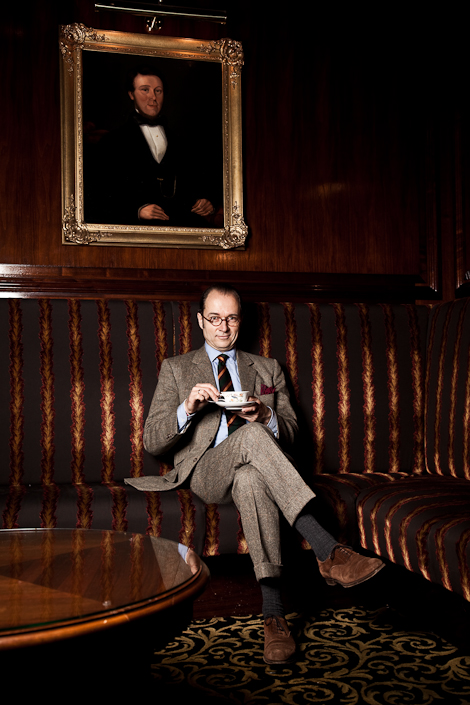 "Berhard Roetzel, Author of ""Gentlemen: A Timeless Fashion."""