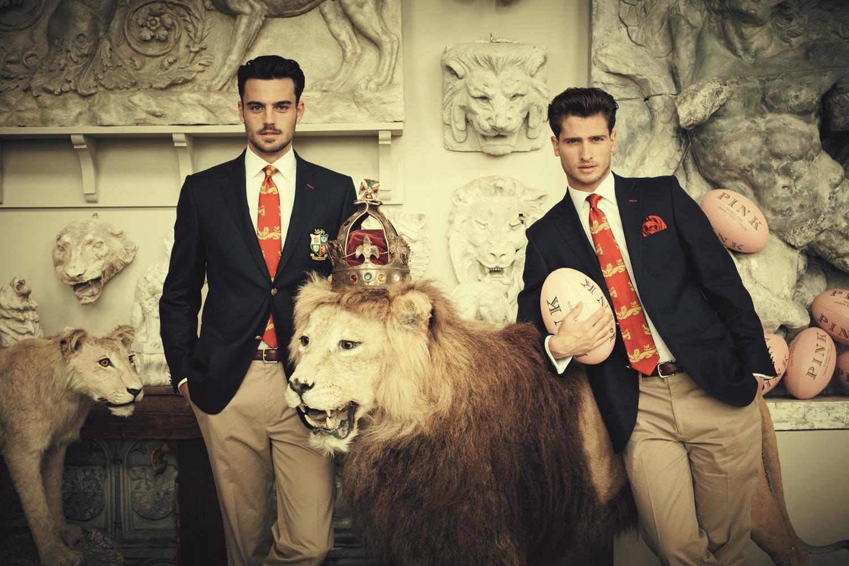 Mens Fashion Thomas Pink