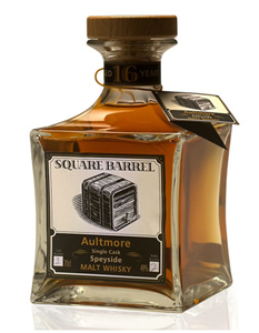 Square Barrel Whisky of Scotland