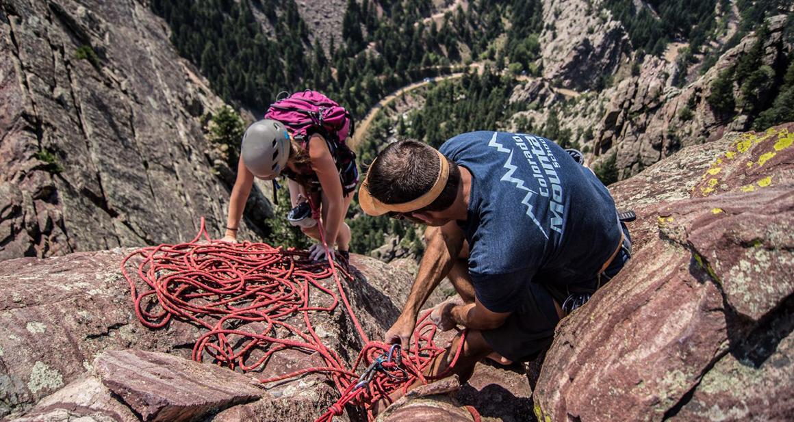 Colorado Mountain School Rock Climbing