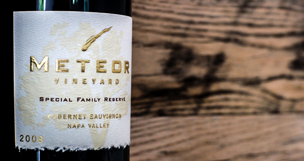 [WINE REVIEW] 2008 Meteor Vineyard Special Family Reserve Cabernet Sauvignon