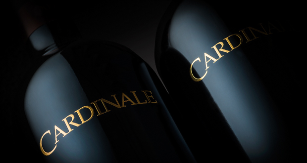 Cardinale Napa Valley Winery header