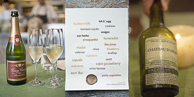 elements princeton menu wine