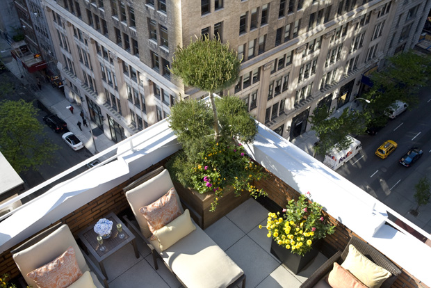 You can see incredible views of the Empire State Building from the Penthouse at The Roger