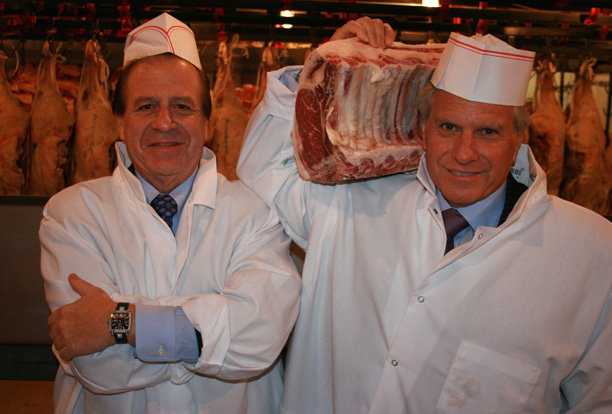 Owners Marc & Greg Sherry hand select all the beef served at Old Homestead