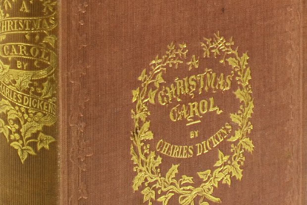 First edition, phenomenal condition copy of the classic Charles Dickens A Christmas Carol available at Whitmore Rare Books