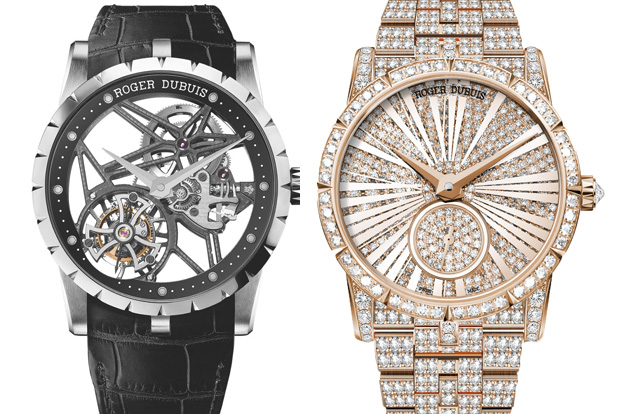 Our Roger Dubuis picks - MSRP (from the left) $338,000 and $340,000 respectively.