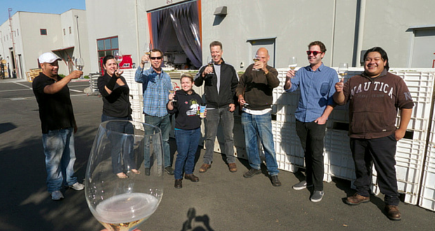 Tasting with the Wine Foundry Team at their new Napa home