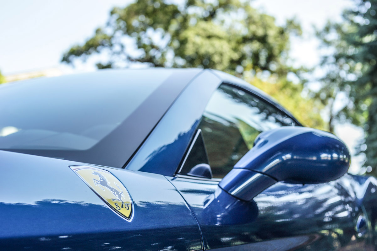 2015 Ferrari California shot at Lynmar Estate in Sonoma, CA by Brian Aitken