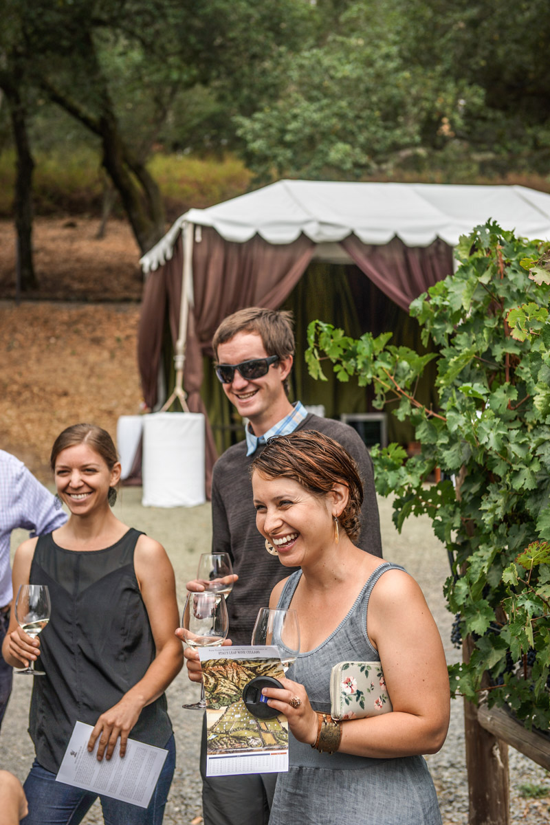 Jenna Bostock of Alister & Paine Magazine at Stag's Leap Winery