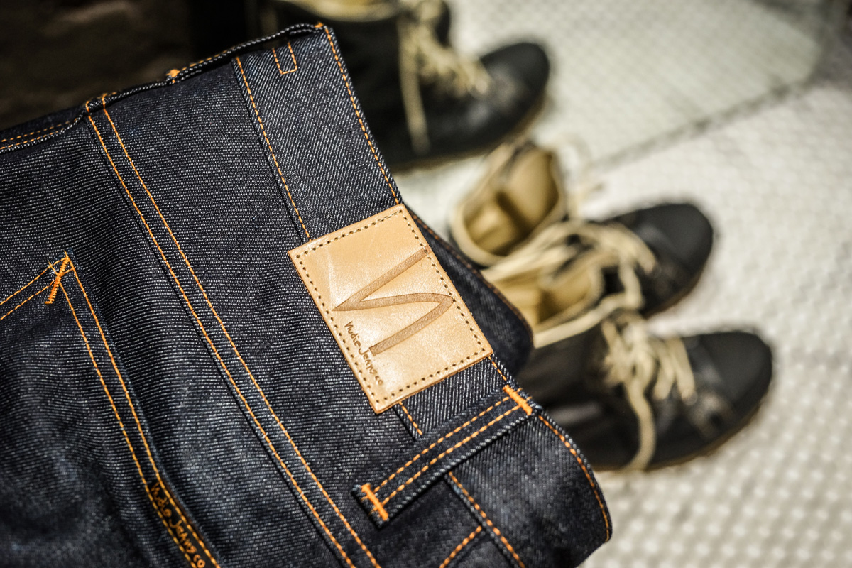 Nudie Jeans Selvage Men's Fashion Denim